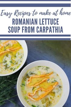 Romanian Lettuce Soup - an easy recipe from Romania to make at home with Lettuce, Yoghurt and Egg Lunch Recipes, New Recipes, Soup Recipes, Favorite Recipes, Simple Recipes, Appetizer Recipes, Dinner Recipes, Appetizers, Healthy Italian Recipes