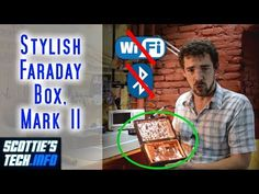 A better stylish smartphone Faraday Box Tech Hacks, Science And Technology, Smartphone, Grandchildren, Stylish, Box, Prepping, Youtube, Snare Drum