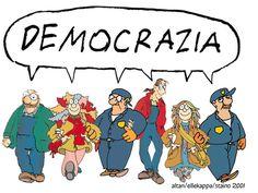 Democrazia significa noi