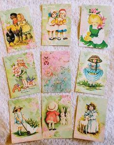Patrick Day~Vintage~9 Pocket Pen Pal~Cards~No Protector~#61~judysjemscrafts St