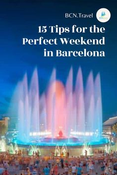 Don't know where to go this weekend? Barcelona is a place that will make you forget the hustle of your workdays. Try a 3-day weekend trip to Barcelona and have a reset that you are longing for. Here are tips and tricks to make your weekend remarkable! Europe Travel Guide, Spain Travel, Winter Travel, Summer Travel, Spain Destinations, Christmas Destinations, Barcelona Travel, Travel Articles, Best Places To Travel