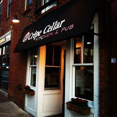 Crepe Cellar in the NODA art district of Charlotte, NC - so quaint with amazing food, and great staff.