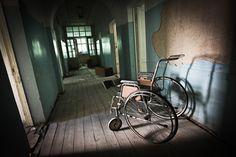 Народ, забывший своё прошлое, не имеет будущего - Заброшенный военный госпиталь