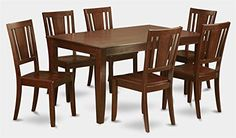 7Pc Traditional Dining Set >>> You can find out more details at the link of the image.Note:It is affiliate link to Amazon. #70likes