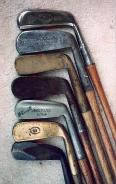 I actually have a set of wooden shaft clubs!