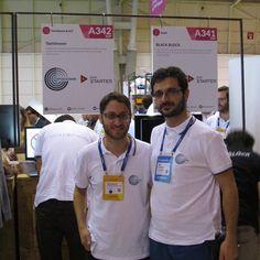 First day of #websummit was full of activity for @optishower  team #Lisbon #madeoflisboa #optishower #startup