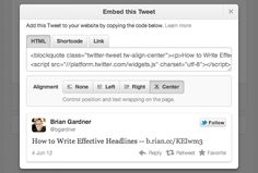 The Quick and Easy Way to Embed a Tweet in a Blog Post