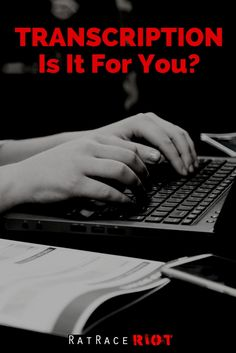 Ever wondered what the deal is with transcription? Check out the info and see if it might be a good fit for you as a work-from-home option! Work From Home Options, Rat Race, Transcription, How To Make Money, Racing, Cover, Fitness, Check, Running