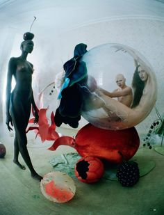 Tim Walker pays tribute to Hieronymus Bosch with an fashion story for Love Magazine Spring 2016 [fashion]