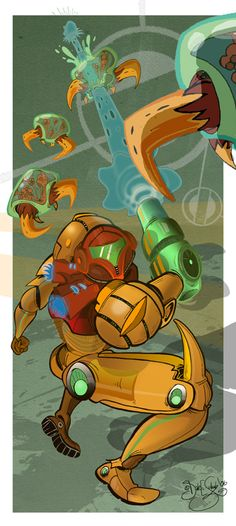 Metroid by *Themrock on deviantART