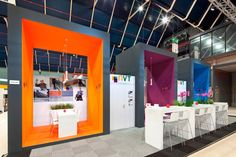 Stand from The Inside stand building at Bouwbeurs (Building fair) at Jaarbeurs Utrecht, The Netherlands - 70 m2