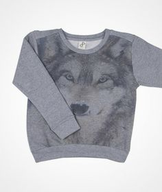 Popupshop Sweat print wolf sweat