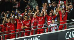 Liverpool FC Carling Cup 2012