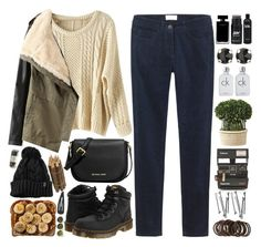 """autumn"" by lelia-25 ❤ liked on Polyvore featuring Toast, Dr. Martens, Narciso Rodriguez, Kendra Scott, Calvin Klein, MICHAEL Michael Kors, Uttermost, Polaroid, BOBBY and Forever 21"