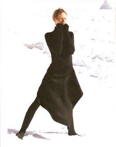 Donna Karan Fall/Wint 1999 - Kirsten Owen by Peter Lindbergh
