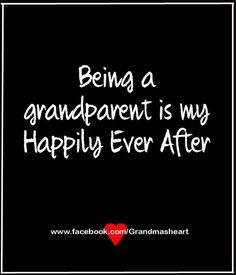 Being a grandparent ...