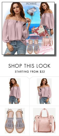 """""""//Romwe(summer style)set 4.//"""" by fahirade ❤ liked on Polyvore"""