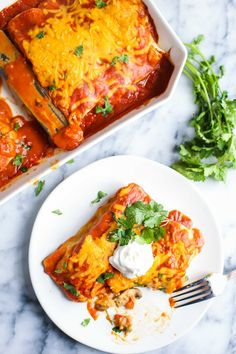 These Veggie VEGAN Enchiladas are packed with flavor and nutrients and are sure to please the entire family!