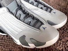 Air Jordan 14 Retro Sport Blue Detailed Pictures