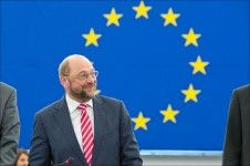 Catalan and Basque MEPs urge Schulz to allow the use of their languages in the plenary - CNA, 02 July 2014. The MEPs from the Centre-Right pro-Catalan State (CiU), Ramon Tremosa and Francesc Gambús, and the MEP from the Basque Nationalist Party (PNB), Izaskun Bilbao, urged the president of the European Parliament, Martin Schulz, to allow the use of Catalan, Basque and Galician in the chamber.