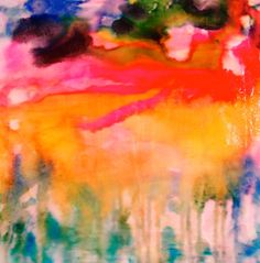 Abstract Painting Paradise Gone by ArtLocker on Etsy, $777.77