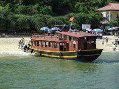 Monkey Island in Ha Long Bay , Vietnam