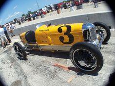 Harry Miller's race car
