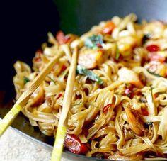Drunken Noodles – Pad Kee Mao | Food Recipes