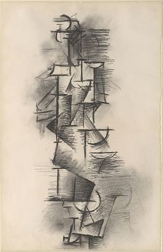Standing Female Nude Artist: Pablo Picasso (Spanish, Malaga 1881–1973 Mougins, France ) Date: 1910 Medium: Charcoal on paper Dimensions: 19 x 12 3/8 in. (48.3 x 31.4 cm) Classification: Drawings Credit Line: Alfred Stieglitz Collection, 1949 Accession Number: 49.70.34 Rights and Reproduction:© 2015 Estate of Pablo Picasso / Artists Rights Society (ARS), New York