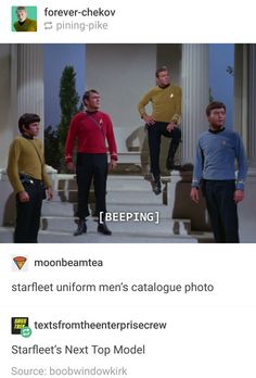 captain kirk there though