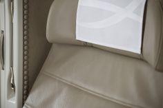 Luxurious Leathers Seats مقاعد فاخرة من الجلد #first_class #B777_300ER