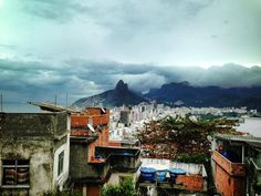 View over Ipanema from morro de Cantagalo in #Rio de Janeiro #Brazil