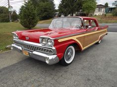1959 Ford Custom 300 Woodie....possibly one of a kind...
