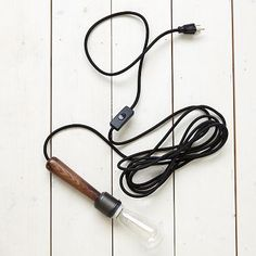 Wood Cord Set #westelm