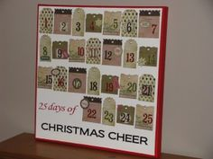 Christmas Advent Calendar - Clean and Scentsible