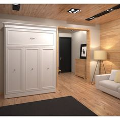 If you had told us a few years ago that you could have a Murphy bed without knocking down a wall, well, we'd just have shown you theBestar Versatile Murphy Wall Bed. This large unit gives you a classic Murphy bed with ample storage and a full range of options that let you customize it to your space. | eBay!