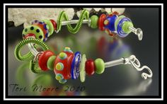 Beads and bracelet created by Teri Moore.  This one is already sold, but I can always make another on request:-)