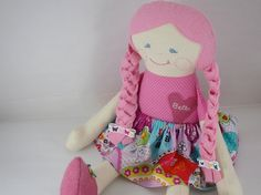 Custom Cloth Doll Personalized Rag Doll by LittleSidekick on Etsy, $65.00