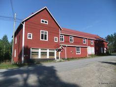 ÄHTÄRIN MAISEMIA - Vanha järjestötalo Inhan tehtaalla.