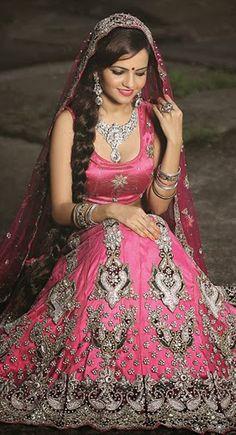 Ethnic Pink #Lehenga #Choli