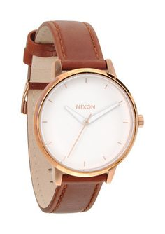 The Kensington Leather | Women's Watches | Nixon Watches and Premium A... | Keep.com