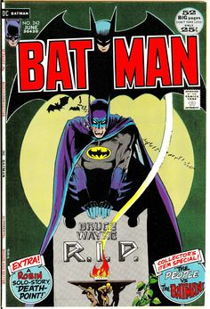 browsethestacks: Vintage Comic - Batman #242, cover art by Michael Kaluta.