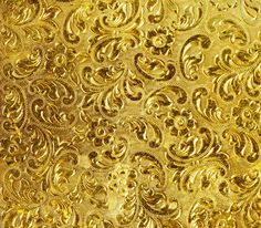 Golden Pattern Background Gold Textures HD