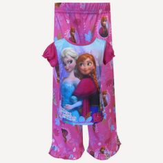 3dbefc2813bf Disney Frozen Princesses Anna and Elsa Pajama Sure to please any Frozen  fan
