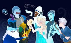 "OMGOMGOMGOMG LOKI AND ELSA!!!! And jack is all like ""don't touch my woman"" even though I ship jelsa, I still think that if Loki was an animated character I would totally ship him and Elsa. Losa!!!!! But bye I still ship jelsa!!! They are so perfect"