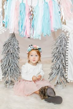 Tis the season in style with this pastel beauty! Each tassel Garland is 5ft long with 20 fully assembled tissue paper tassels. Colors: Mint Aqua Medium pink Light pink White Silver SORRY THIS SALE COLLECTION IS NOT CUSTOMIZABLE. COLORS AS IS. Garland ships for free.