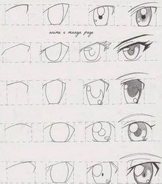 """""""Anime Eyes Tutorial! How to draw anime eyes! I hope this helps someone out there!"""". Yes it will help thanks to whoever pined it before I did."""