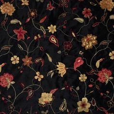 Trend 01855-Jet by Jaclyn Smith 799603 Decor Fabric - Patio Lane offers Jaclyn Smith fabrics by Trend. 01855-Jet is made out of Base Cloth 100% Polyester Embroidery Yarn 100% Rayon and is perfect for bedding and drapery applications. Patio Lane offers large volume discounts and to the trade fabric pricing as well as memo samples and design assistance. We also specialize in contract fabrics and can custom manufacture cushions, curtains, and pillows. If you cannot find a fabric you're looking…