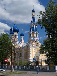 Iglesia de San Nicolás, en Brest, Bielorrusia