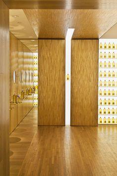 Guerlain Paris | Peter Marino Architect Marqueterie de Paille par les Ateliers…